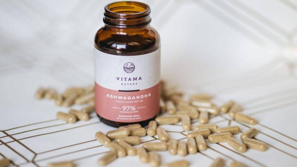 Kapsułki Ashwagandy Vitama Nature