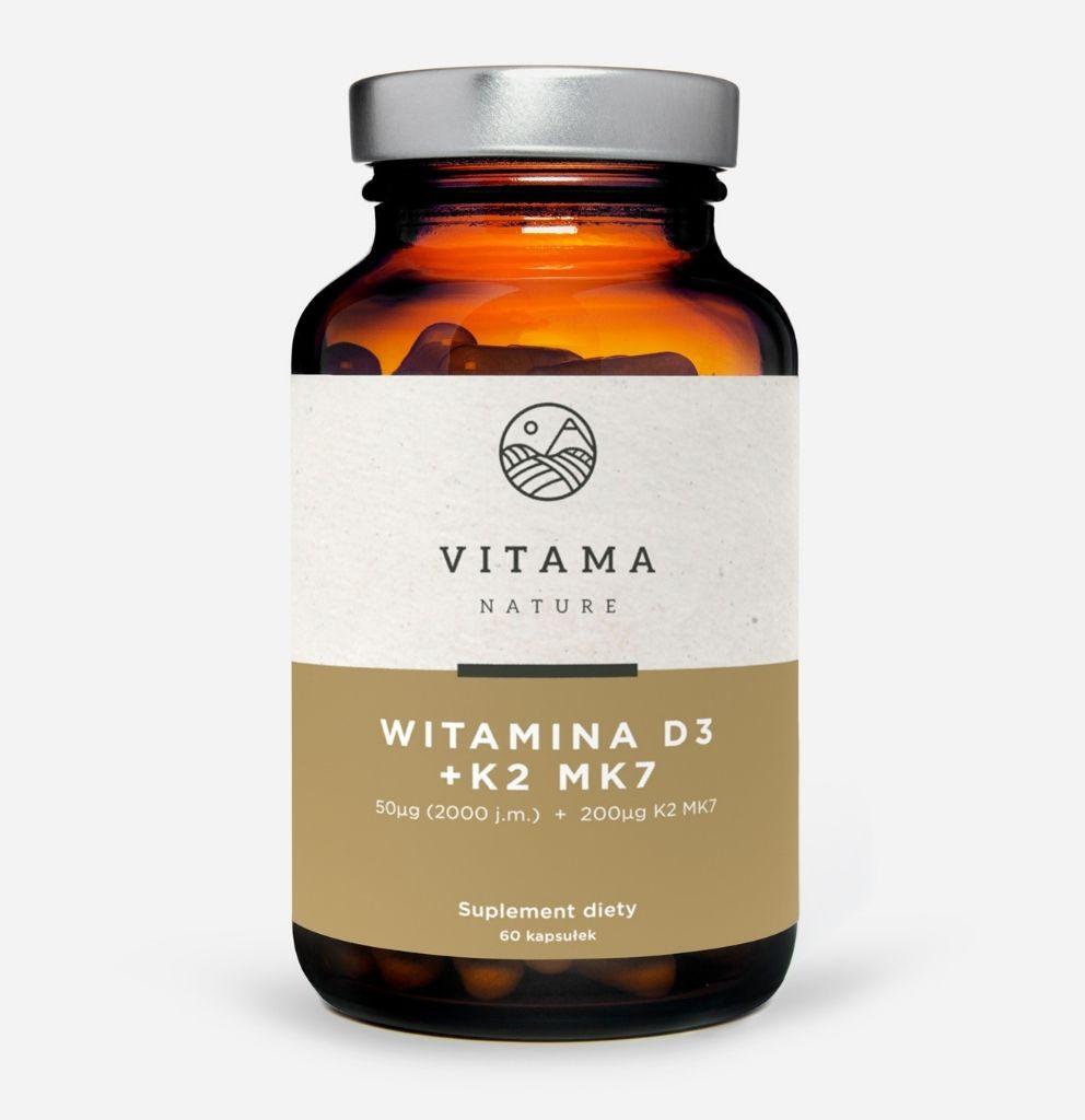 Suplement diety Witamina D3 + MK7 Vitama Nature