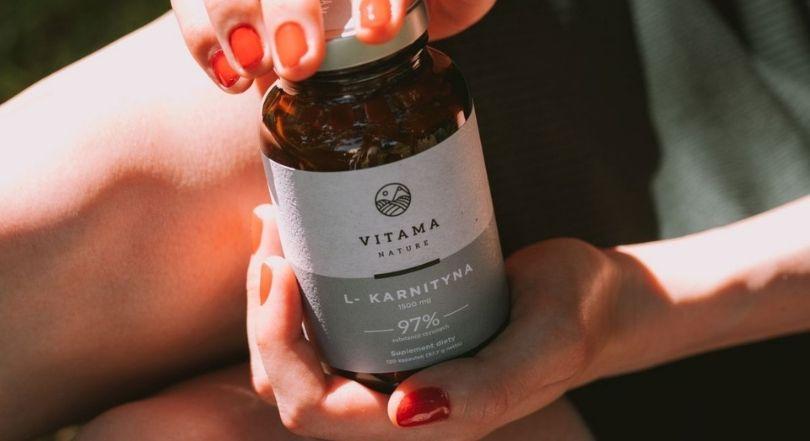 suplement diety l karnityna Vitama Nature