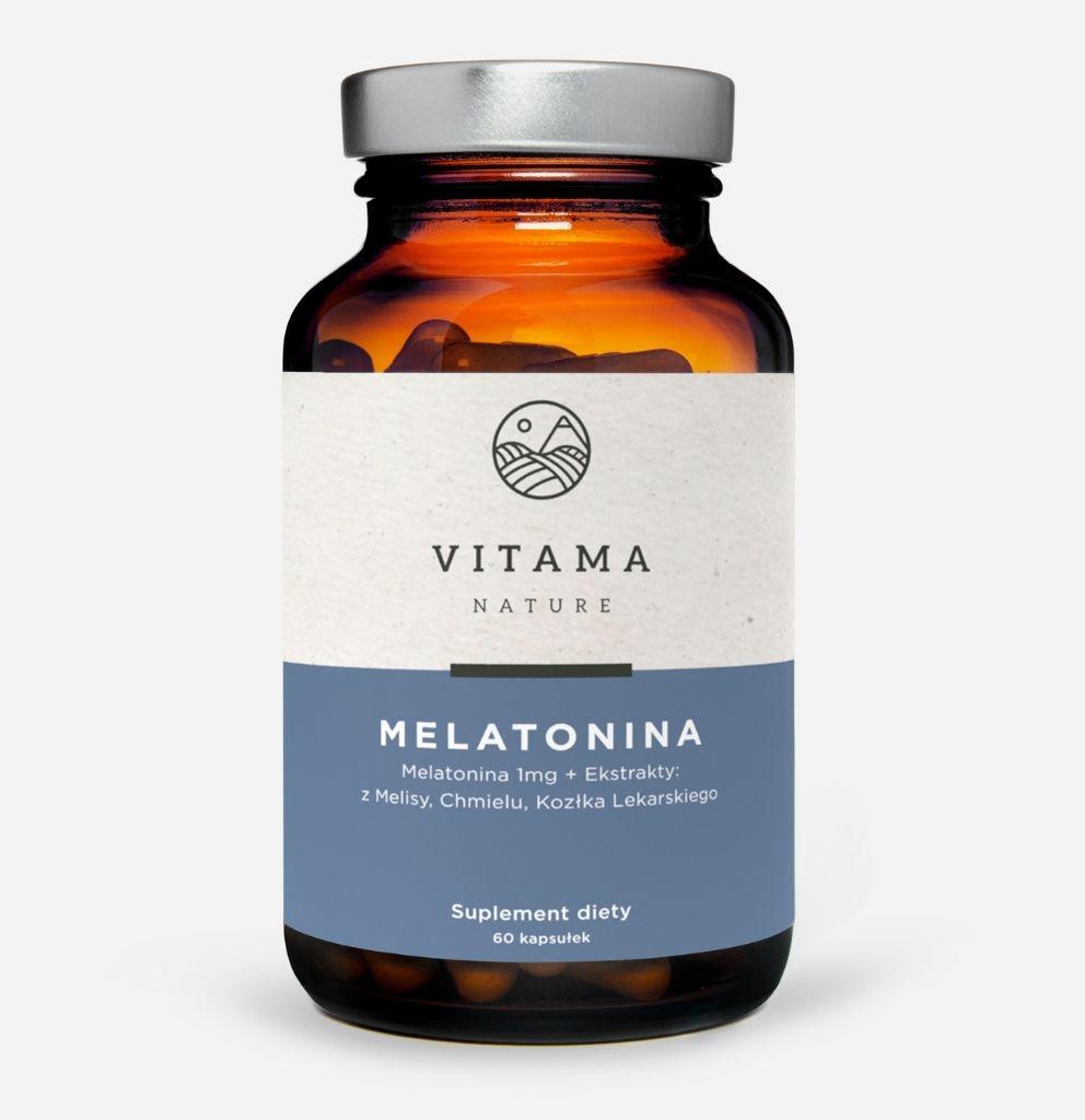 suplement diety melatonina Vitama Nature